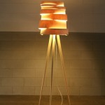 lampada legno naturale design