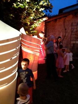 ... Movimenti, luce e arte, lampade in legno naturale  Clab4Design